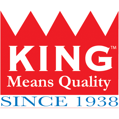 king feed grandstand sponsor logo