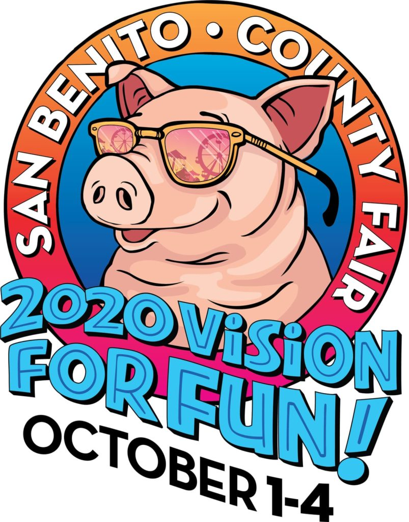 San Benito County Fair Logo - 2020 Vision for Fun! October 1-4, 2020