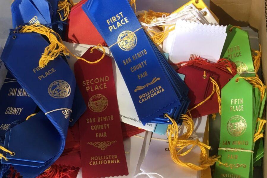 San Benito County Fair ribbons