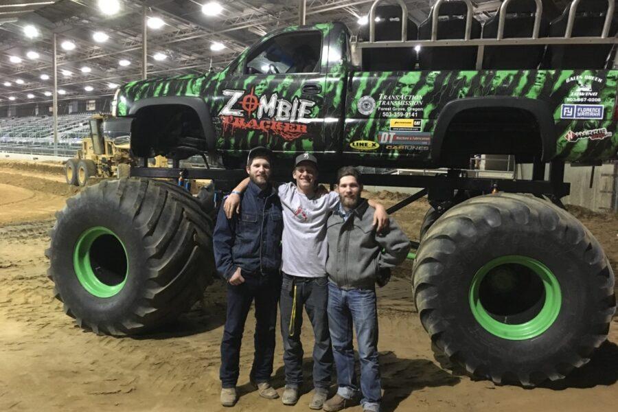 "Motorsports monster truck ""Zombie"""